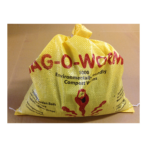 1 front - Bag O Worms - 2000 Worms