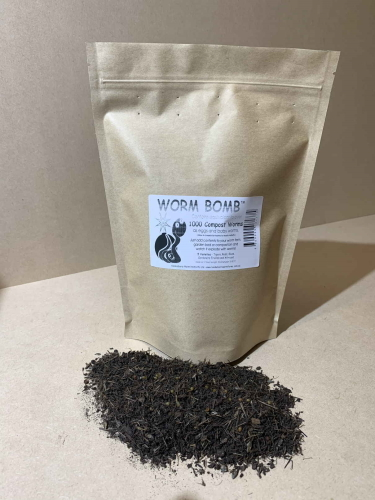 Compost Worm Bomb – 12 Tubs (Eggs Equivalent To ~12,000 Worms)